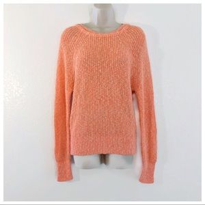 Free People Orange Sweater Size Small